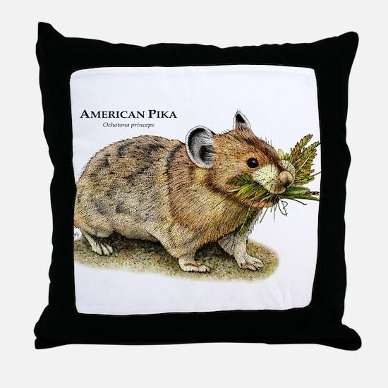American Pika Throw Pillow