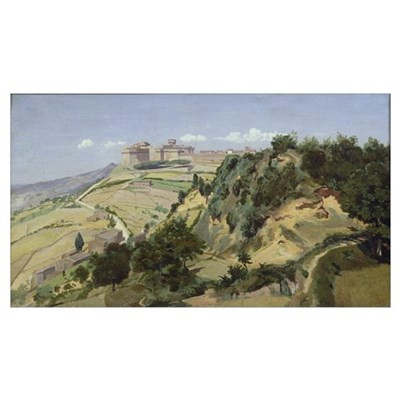 Volterra, 1834 (oil on canvas) Poster