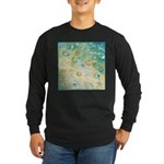 Sand and Surf Long Sleeve Dark T-Shirt