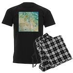 Sand and Surf Men's Dark Pajamas