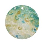 Sand and Surf Ornament (Round)
