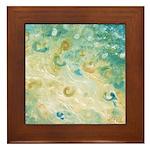 Sand and Surf Framed Tile