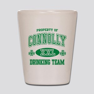 Connolly Irish Drinking Team Shot Glass