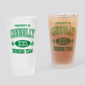 Connolly Irish Drinking Team Drinking Glass