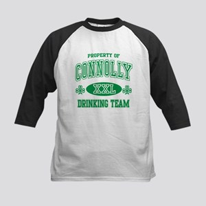 Connolly Irish Drinking Team Kids Baseball Jersey