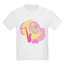 Saxophone Music Baby Kids Light T-Shirt