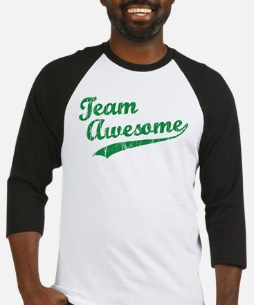 Custom Team Awesome Baseball Jersey