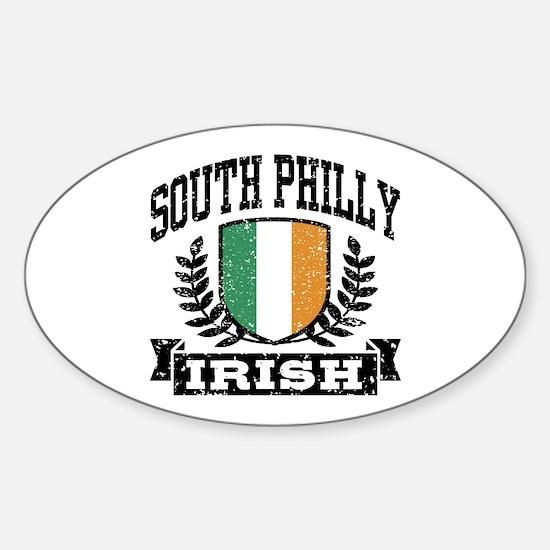 South Philly Irish Sticker (Oval)