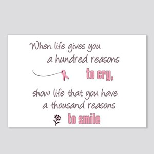 Thousand Reasons to Smile Postcards (Package of 8)