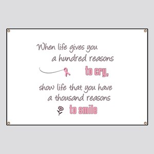 Thousand Reasons to Smile Banner