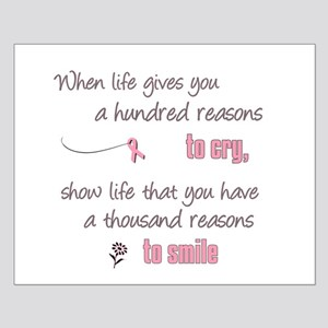 Thousand Reasons to Smile Small Poster