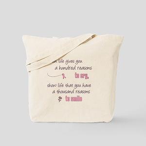 Thousand Reasons to Smile Tote Bag
