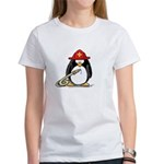 Fireman penguin Women's T-Shirt