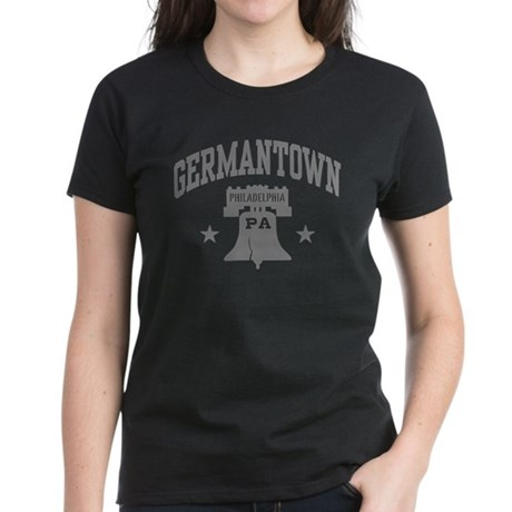 Germantown PA Women's Dark T-Shirt