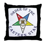 OES Lettered Throw Pillow