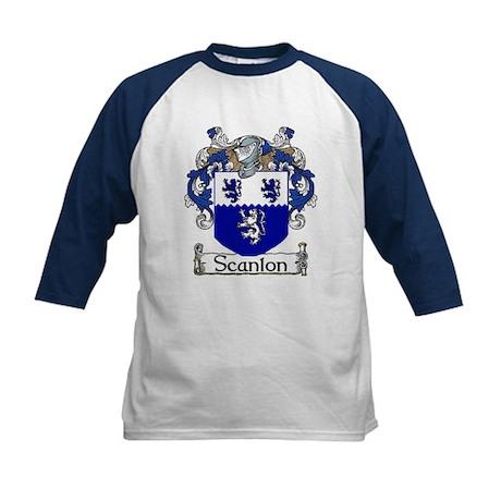 Scanlon Coat of Arms Kids Baseball Jersey