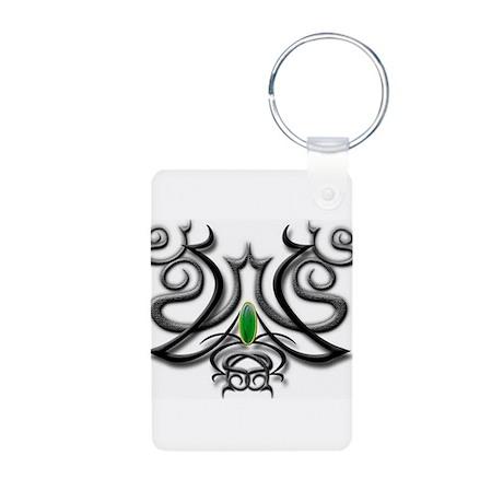Celtic Jade Aluminum Photo Keychain