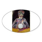 The Fortune Teller Sticker (Oval 10 pk)