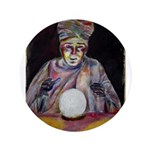 "The Fortune Teller 3.5"" Button"