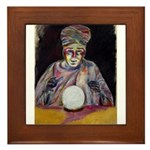 The Fortune Teller Framed Tile