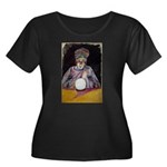 The Fortune Teller Women's Plus Size Scoop Neck Da