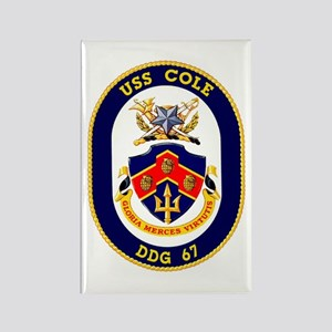 USS Cole DDG 67 Rectangle Magnet