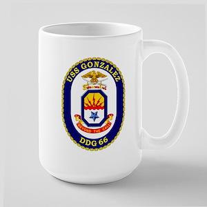 USS Gonzalez DDG 66 Large Mug