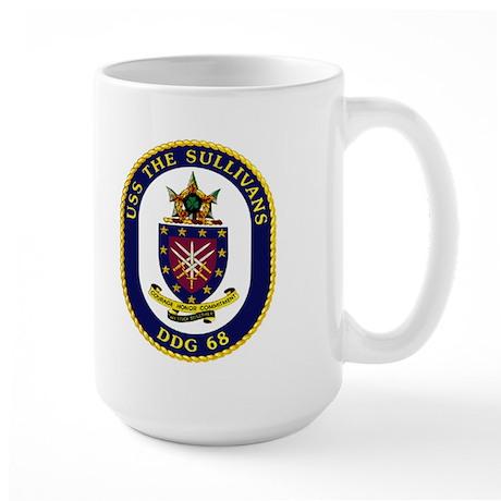 USS The Sullivans DDG 68 Large Mug