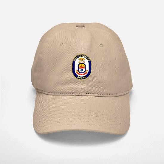 USS Gonzalez DDG 66 Baseball Baseball Cap