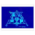 Eagle Apollo Lunar Module Small Poster
