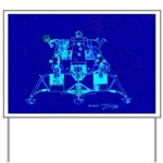 Eagle Apollo Lunar Module Yard Sign