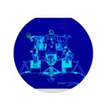 "Eagle Apollo Lunar Module 3.5"" Button (100 pack)"