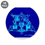 "Eagle Apollo Lunar Module 3.5"" Button (10 pack)"