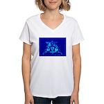 Eagle Apollo Lunar Module Women's V-Neck T-Shirt