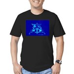 Eagle Apollo Lunar Module Men's Fitted T-Shirt (da