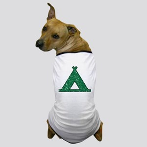 Vintage Camping Style Dog T-Shirt