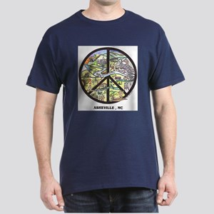 Awesome Asheville Peace Pick your color T-Shirt