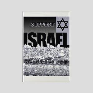 Support Israel Rectangle Magnet