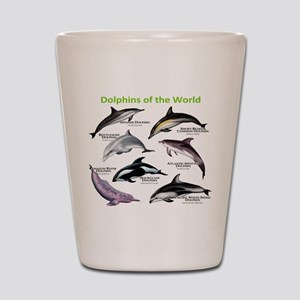 Dolphins of the World Shot Glass