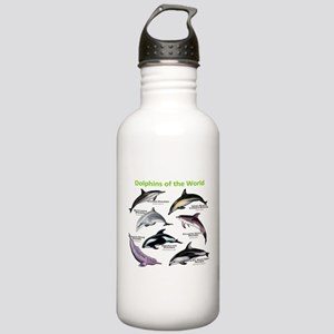 Dolphins of the World Stainless Water Bottle 1.0L