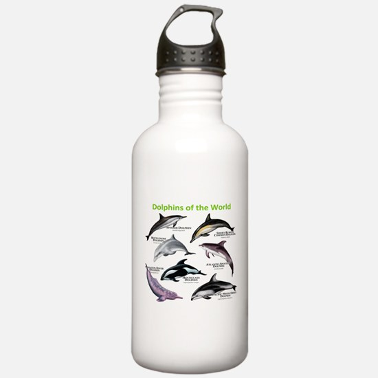 Dolphins of the World Water Bottle