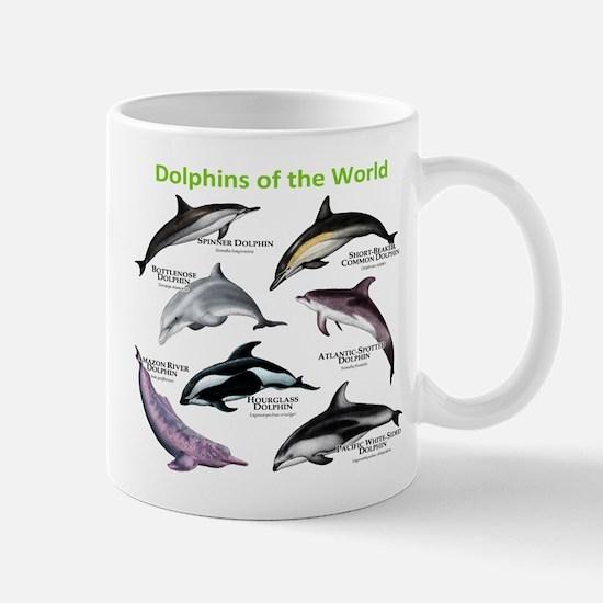 Dolphins of the World Mug
