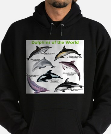 Dolphins of the World Hoodie (dark)