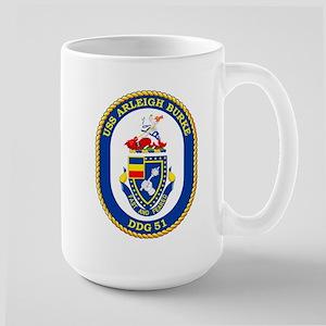 USS Arleigh Burke DDG 51 Large Mug