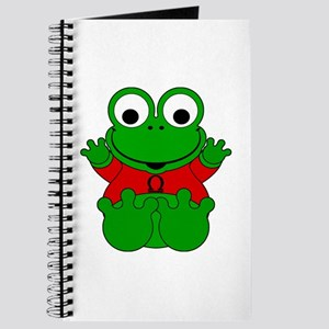 Libra Cartoon Frog Journal