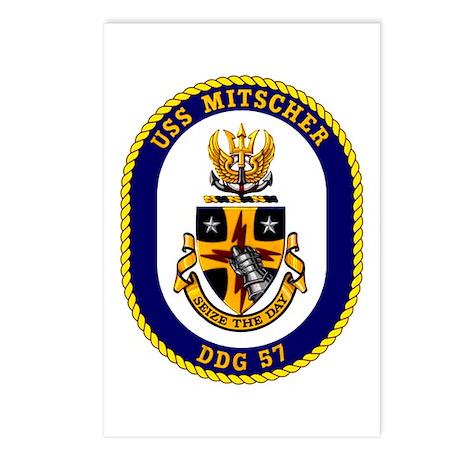 USS Mitscher DDG 57 Postcards (Package of 8)