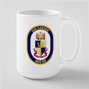 USS Laboon DDG 58 Large Mug