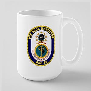 USS Paul Hamilton DDG 60 Large Mug
