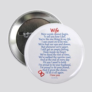 "Wife Love 2.25"" Button"