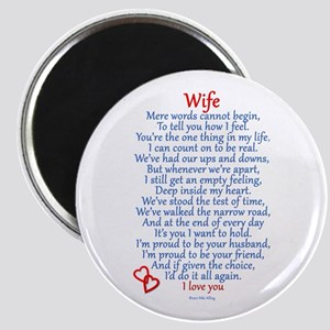 Wife Love Magnet